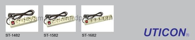 Stop Kontak (Dengan kabel NYMHY 3x0.75 1.5Meter dan saklar)