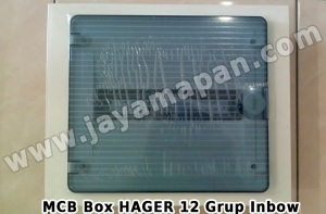 MCB Box Hager 12 Grup Inbow