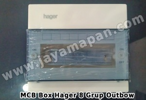 MCB Box Hager 8 Grup Outbow