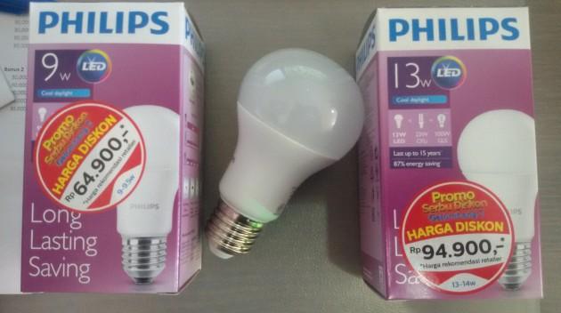 LED BULB PHILIPS Model Baru A60