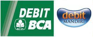 Debit BCA/ Mandiri/BRI